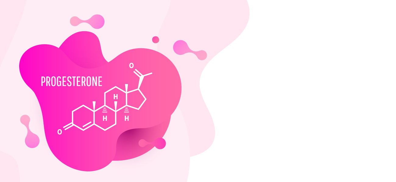 Progesteron Strukturformel